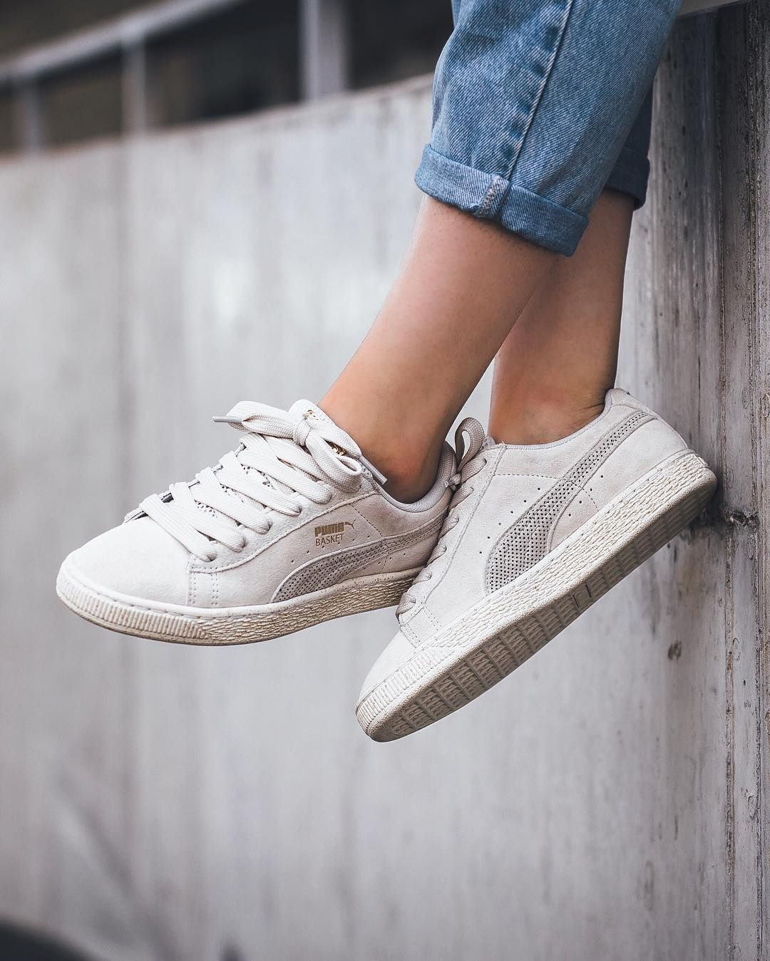 Careaux x Puma Suede Whisper White Whisper White available