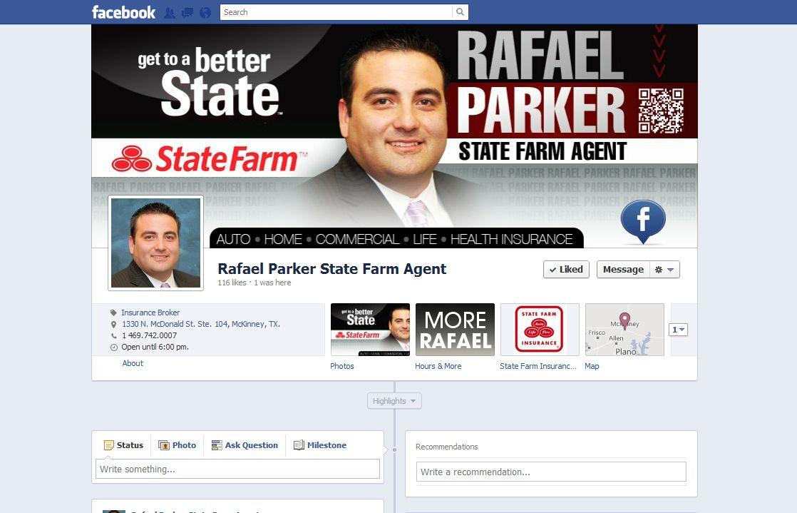 Custom Design For State Farm Agent Facebook Timeline Socialmedia Marketing By Http Brandmynetwork Com State Farm Cover Photo Design Marketing Solution