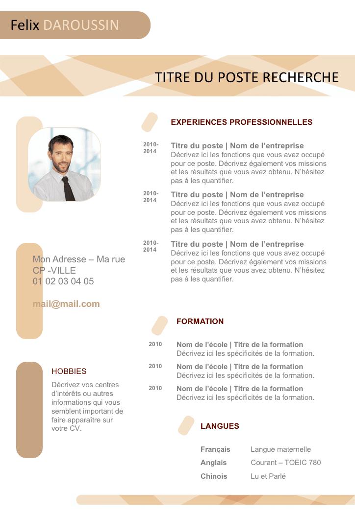 Exemple De Cv Vide Pret A Remplir Gratuit A Telecharger Internet Marketing Strategy Internet Marketing Seo Internet Marketing