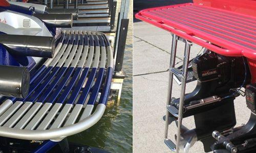 Custom Aluminum swim platforms | Swim Boat Platforms | Boat