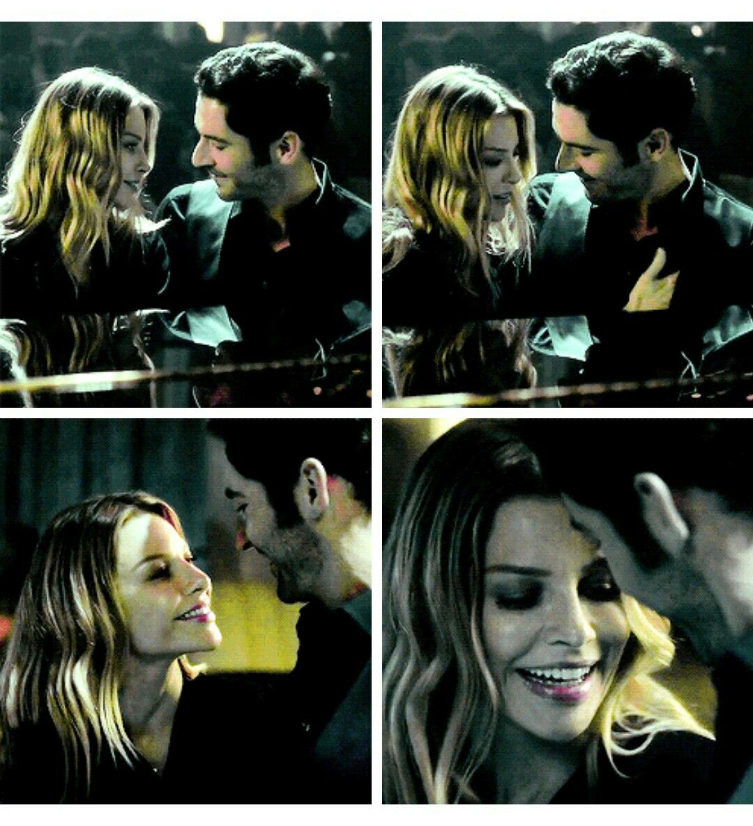 Chloe Pretending To Flirt With Lucifer.... This Is Too