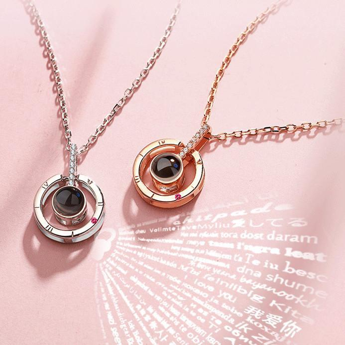 100 Love Necklace Necklace For Girlfriend Pendant