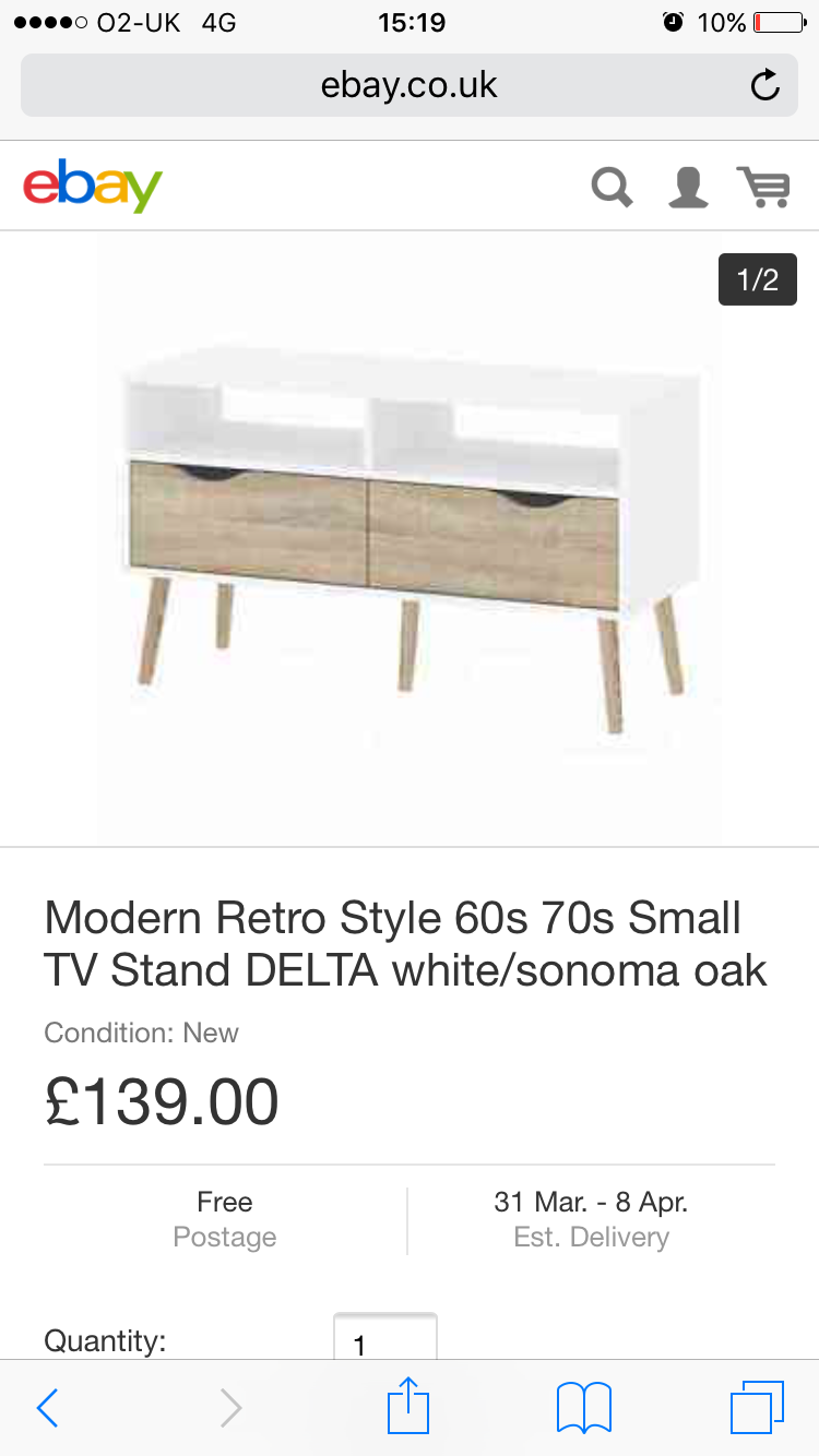 Pin by Emma on TV Stands (With images) Small tv stand