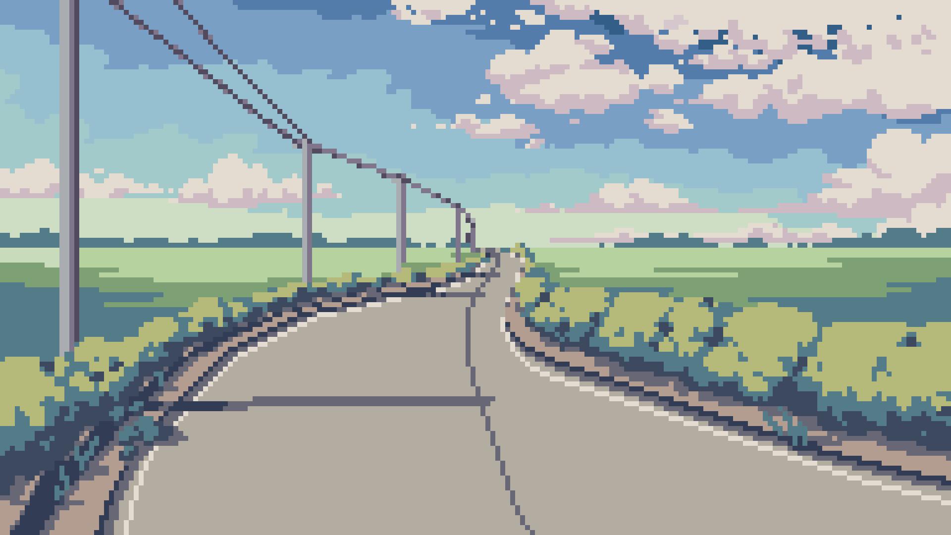 pixel art 1920x1080