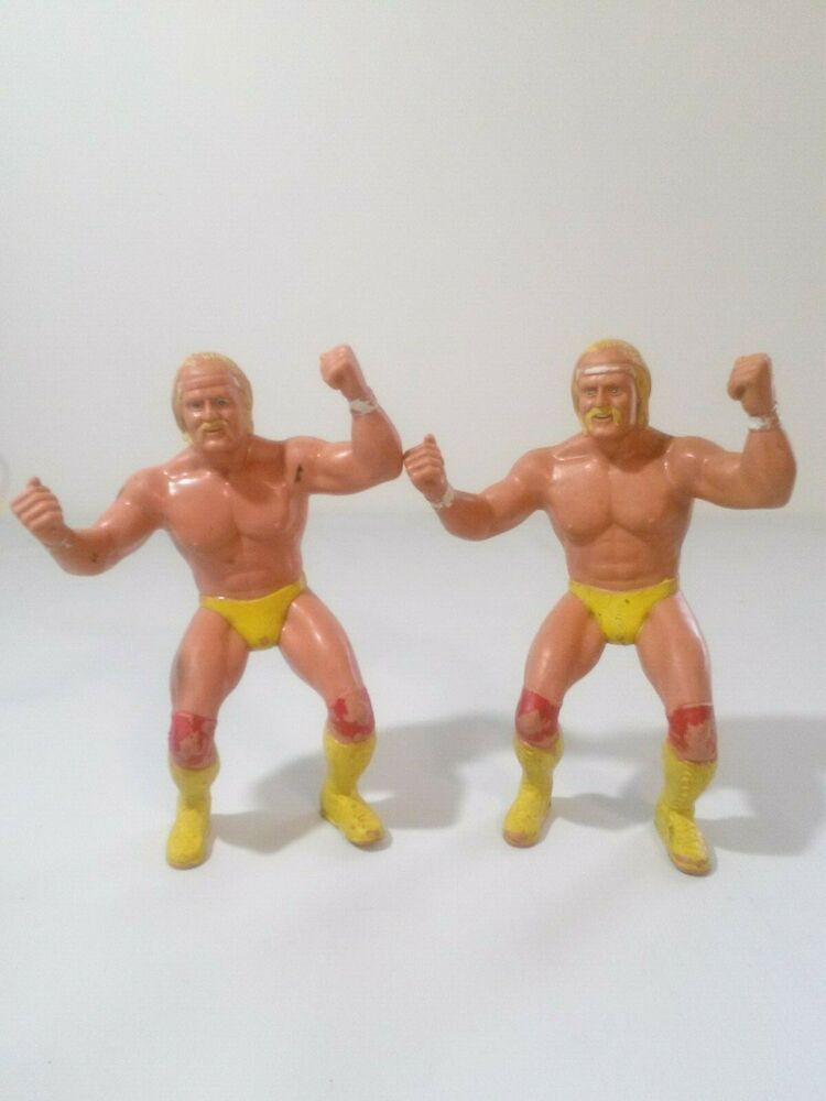 """LJN WWF Titan Sports HULK HOGAN 1984-8/"""" Figure Wrestling"""
