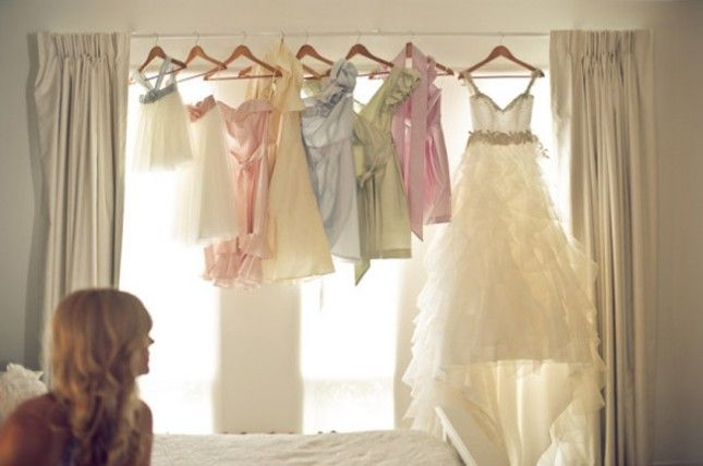 wedding dress photos on hangers by david medina   Bridal Party : You spent an awful lot of time picking out dresses ...