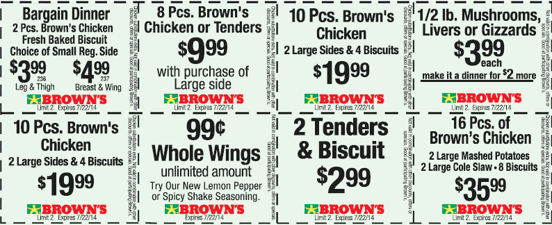 Pinned july 19th 2pc meal 4 bucks more at browns chicken pinned july 19th 2pc meal 4 bucks more at browns chicken coupon fandeluxe Choice Image