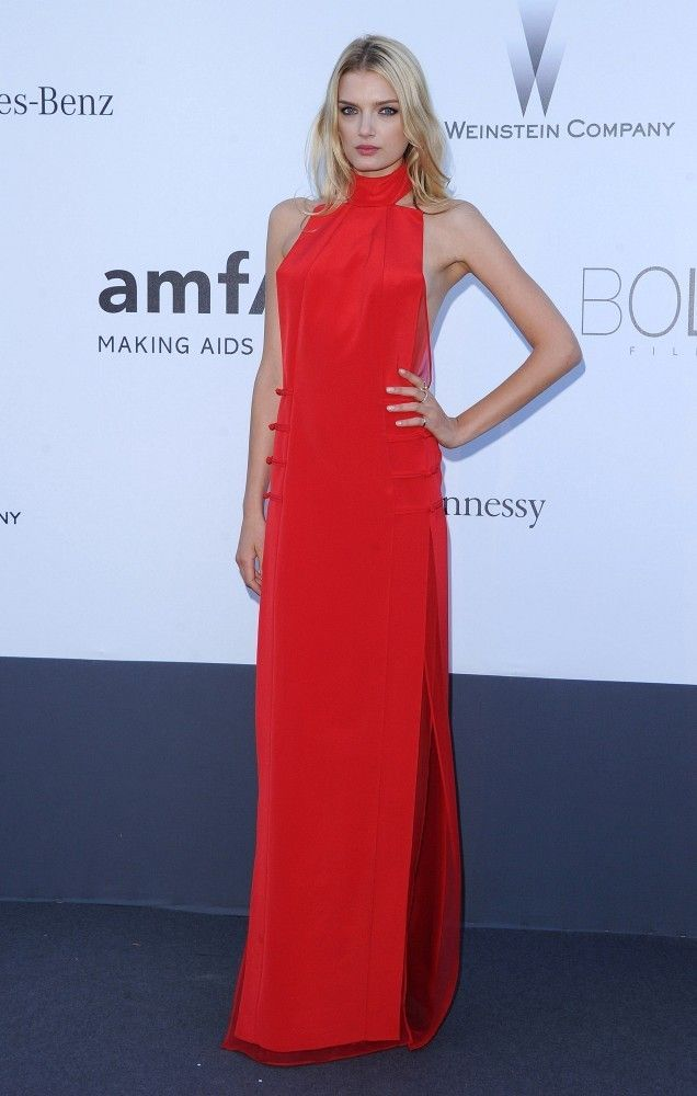 922b82a8a10 Lily Donaldson Evening Dress - Lily Donaldson Looks - StyleBistro