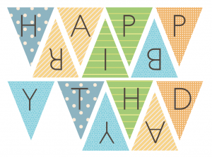 Free Printable Happy Birthday Banner Google Search