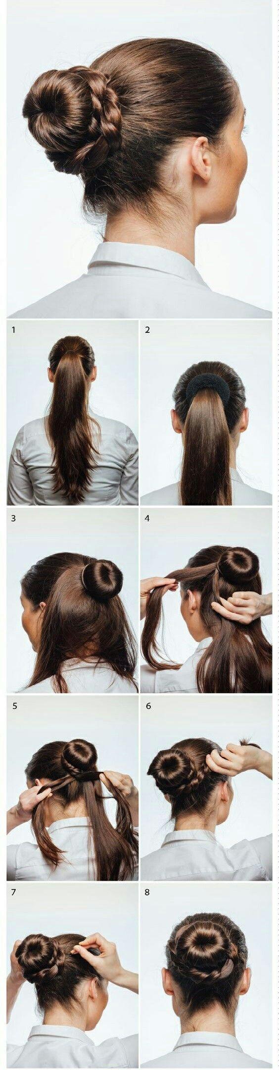Perfecto | Tankia.!! Accesorios | Pinterest | Hair style, Big bun ...