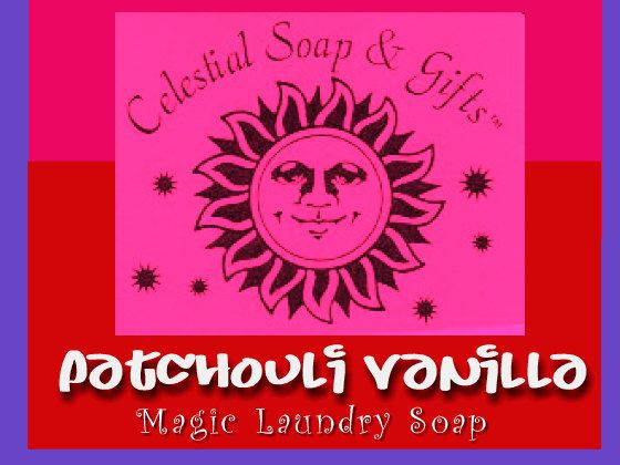 Patchouli Vanilla Natural Vegan Laundry Detergent Soap Powder Bag