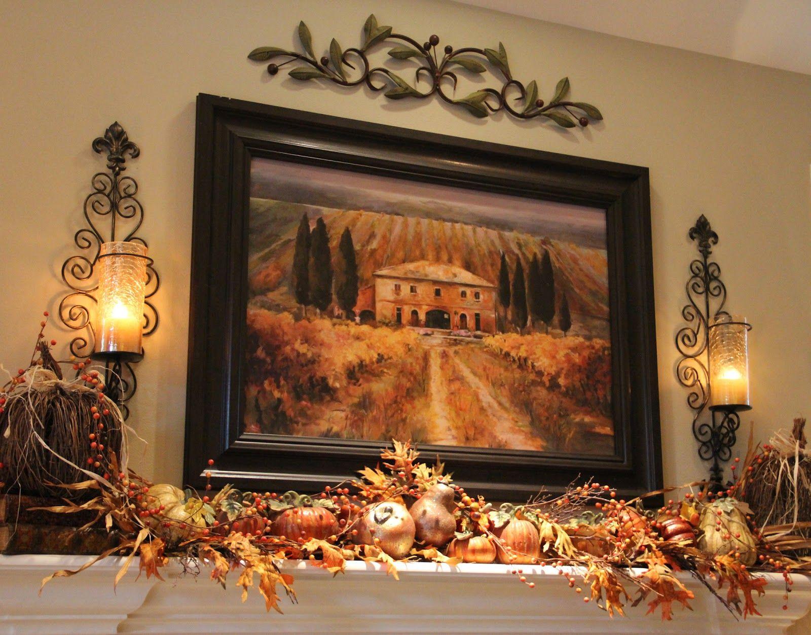 Осенние картинки на стену вырез