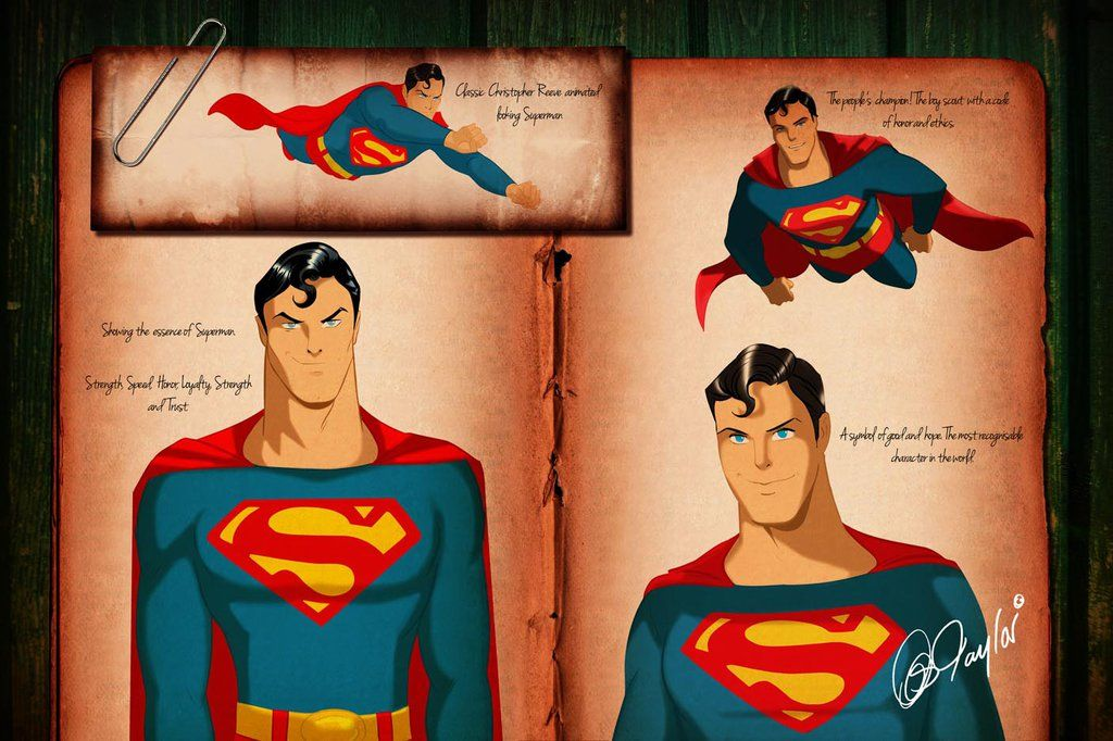 Chris Superman studies by DESPOP.deviantart.com on @deviantART