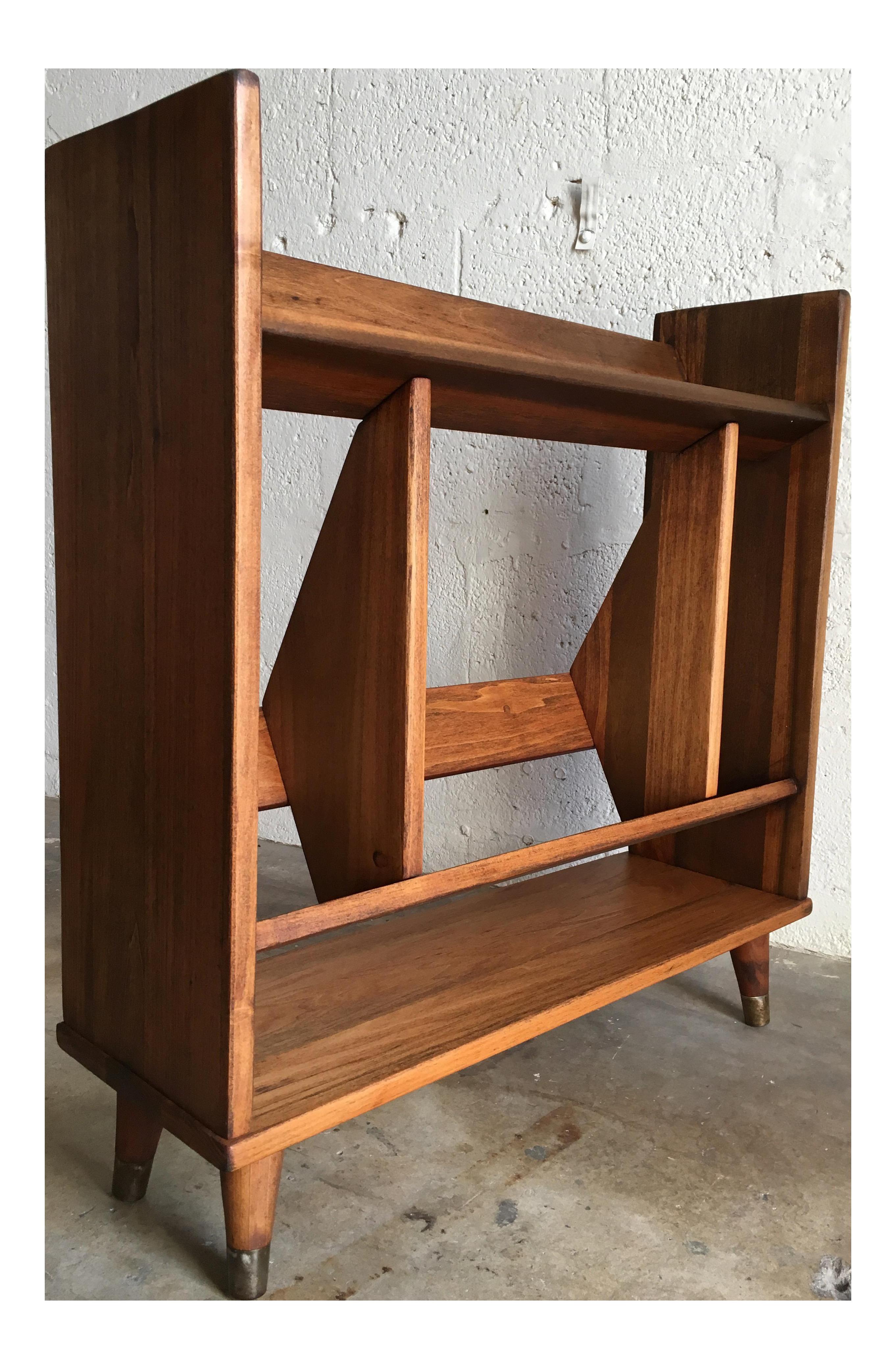 mid century modern bookshelf. Vintage Mid Century Modern Bookcase On Chairish.com Bookshelf N