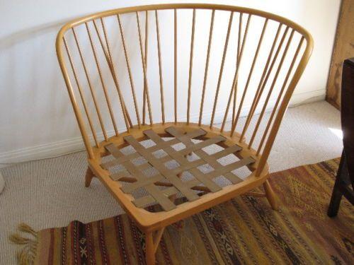 Superbe ERCOL Large Corner Chair