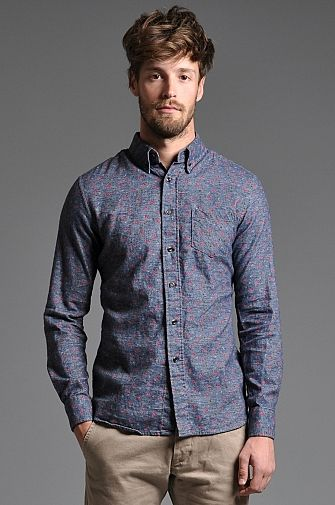 Pigionhole Cameron Shirt Blue Floral