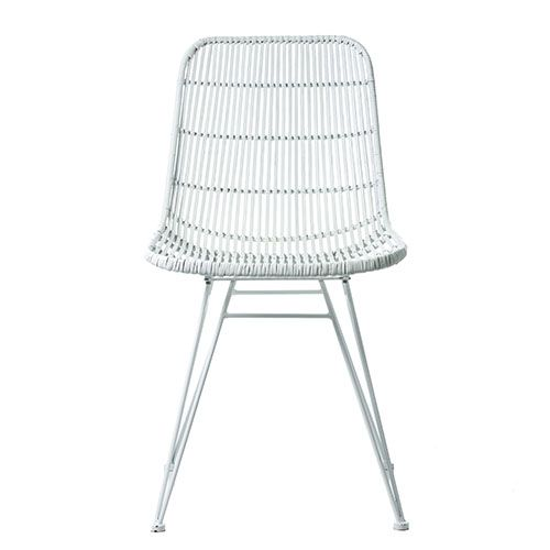 Excellent Cebu Rattan Dining Chair White In 2019 Rattan Dining Ncnpc Chair Design For Home Ncnpcorg