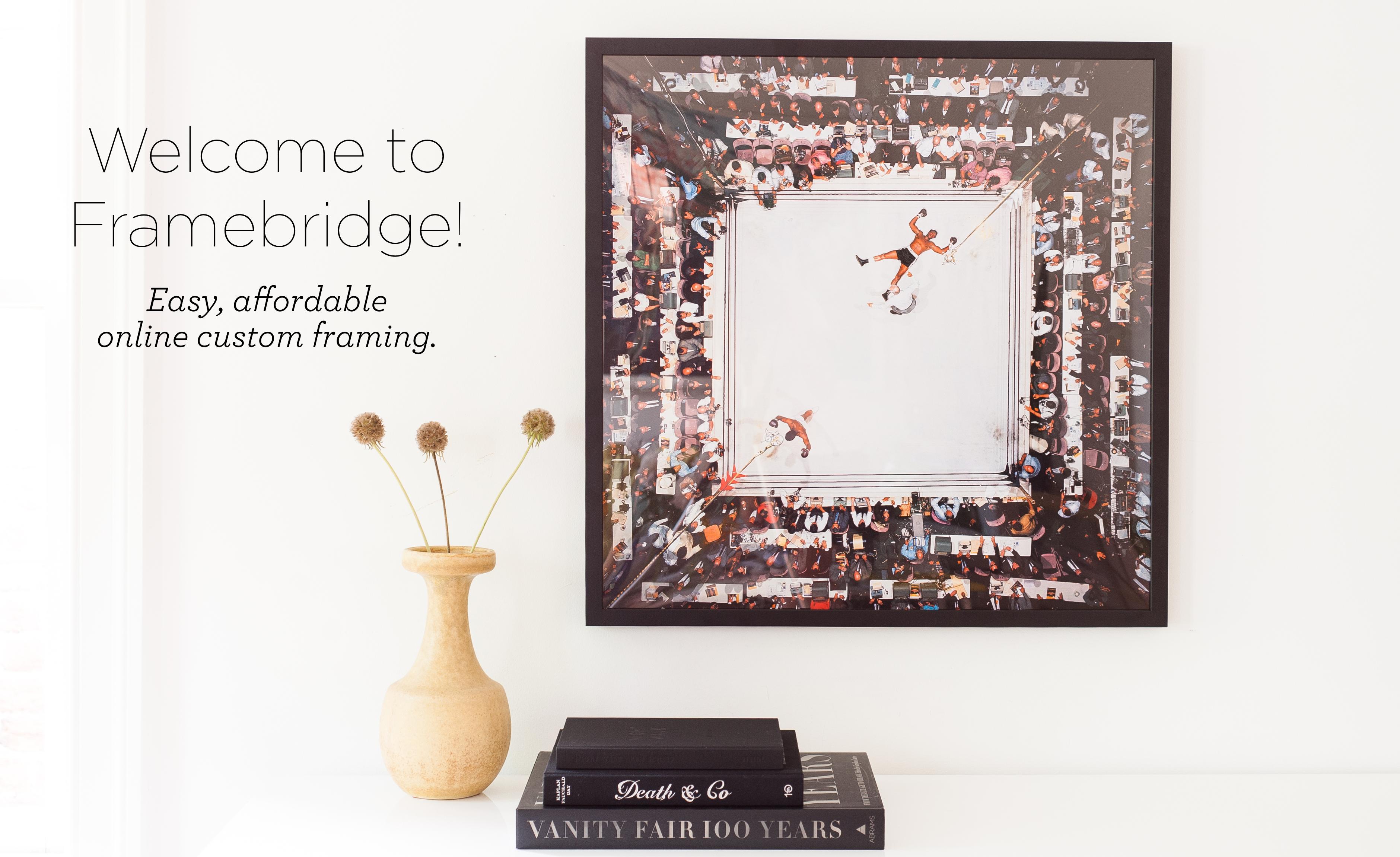 Framebridge: beautiful easy online custom framing   Beaver\'s House ...