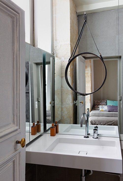 Un Appartamento A Parigi Disegnato Da Charlotte Vauvillier. 40 Metri Quadri  Pieni Di Carattere E