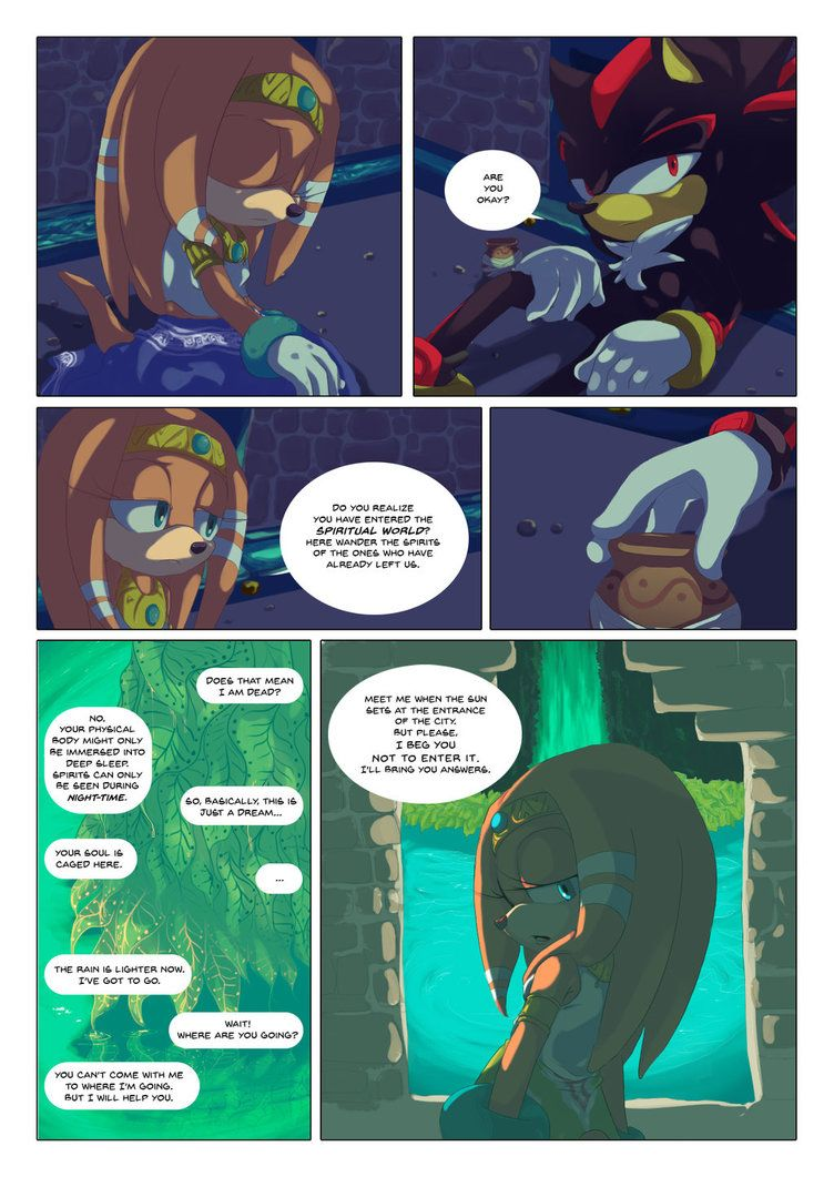 Azul Page 6 By Xibalbapiixan D8q8p5m Shadow The Hedgehog Amazing Art Sonic The Hedgehog