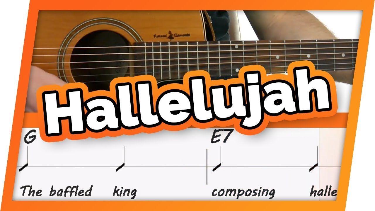 Hallelujah Jeff Buckley Play Along Guitar Karaoke Easy Chords Youtube Guitar Play Along Karaoke Easy Guitar