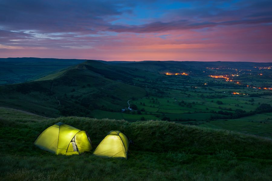 Wild Camping Peak District >> Wild Camping On Mam Tor In The Peak District By Chris