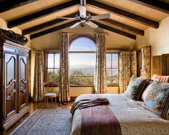 wonderful curtain ideas for large windows and window treatments rustic bedroom ideas with. Black Bedroom Furniture Sets. Home Design Ideas