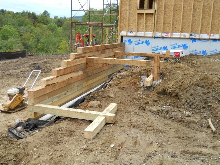 Dead Man In Construction Google Search Railroad Tie Retaining Wall Retaining Wall Wood Retaining Wall