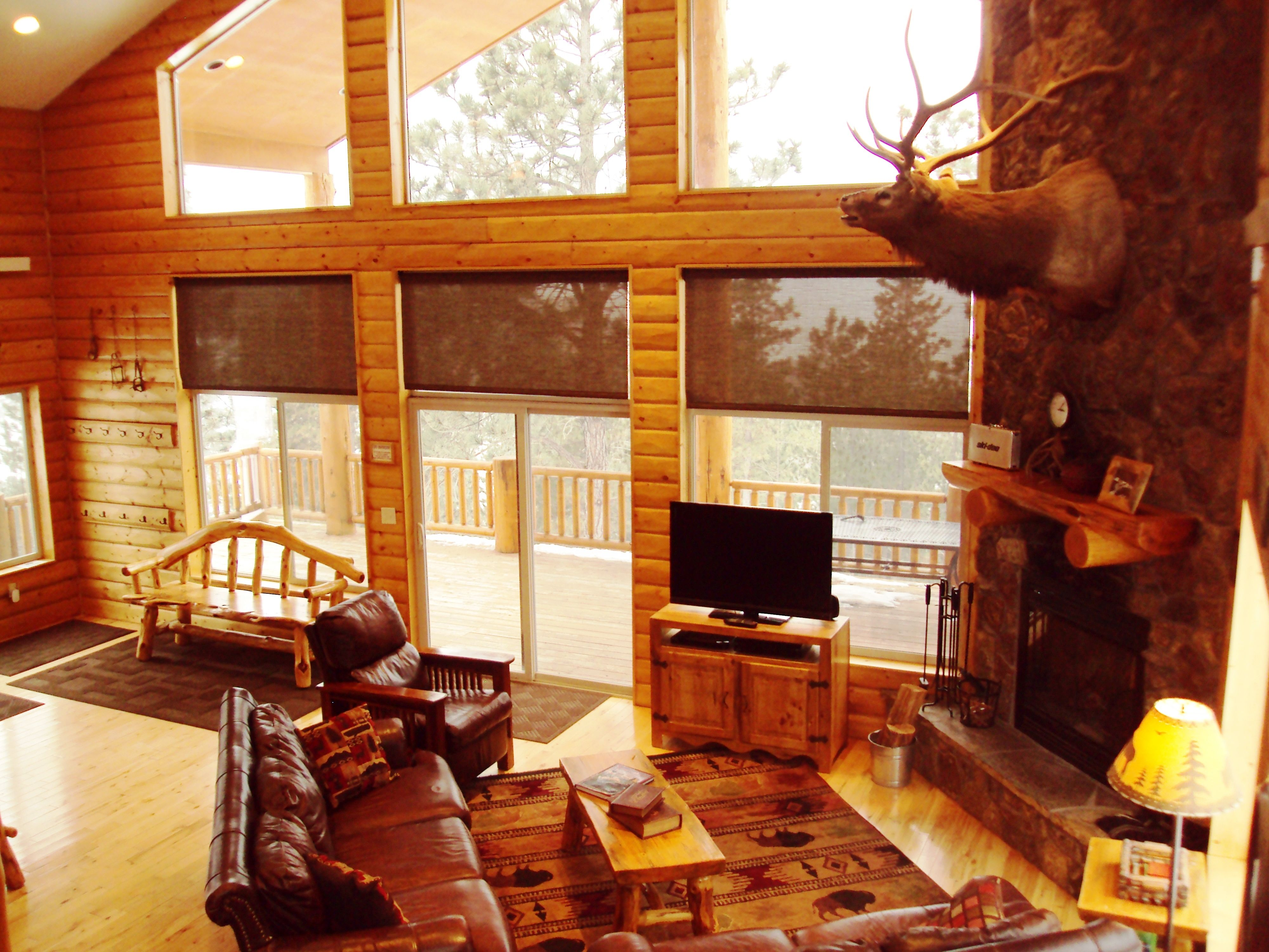 North Ridge Cabin Black Hills South Dakota Great Room With