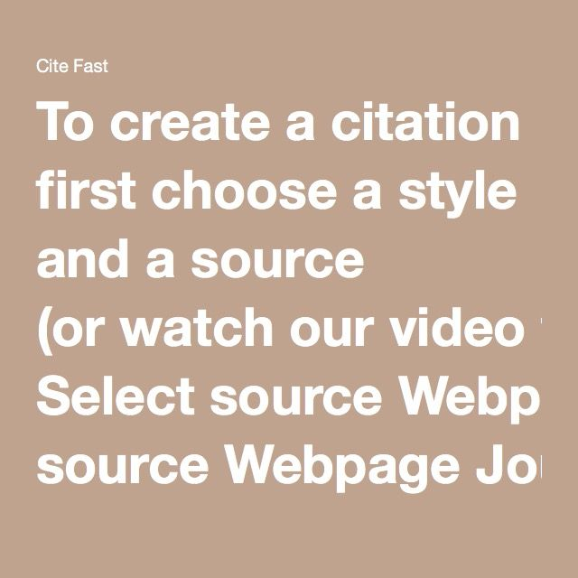 how to cite a video chicago style