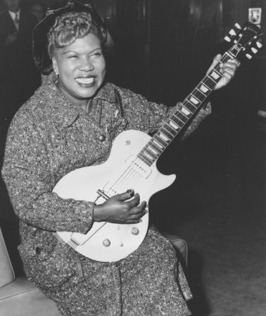 In honor of Black History Month, we're honoring women who changed the game. Today we're featuring Sister Rosetta Tharpe, the grandmother of Rock and Roll.