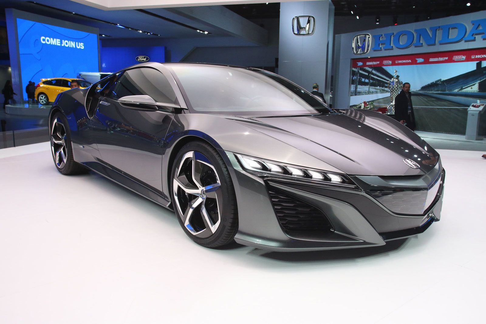 Honda unveils newly redesinged Acura NSX concept