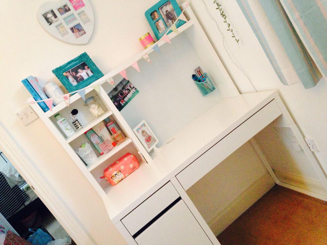 Ikea micke bedroom ideas pinterest desks room and bedrooms - Ikea small spaces bedroom plan ...