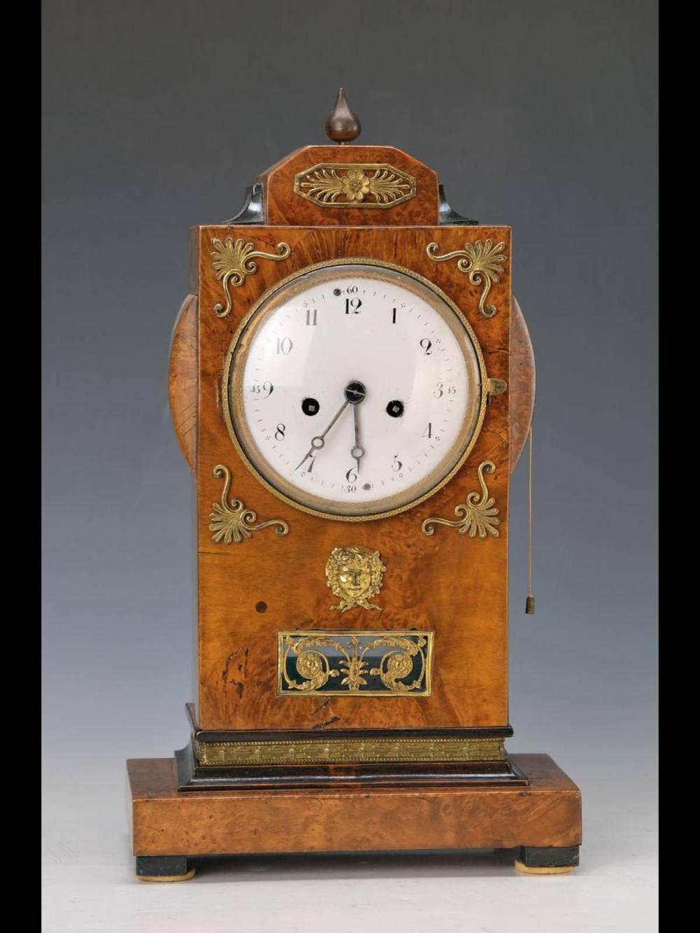 Table Clock Biedermeier German Around 1830 In 2020 Table Clock Clock Biedermeier Furniture