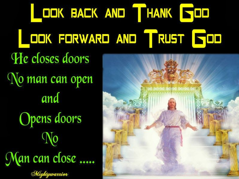 "The Infallible Word of God !!!: "" Trust & Thank God """