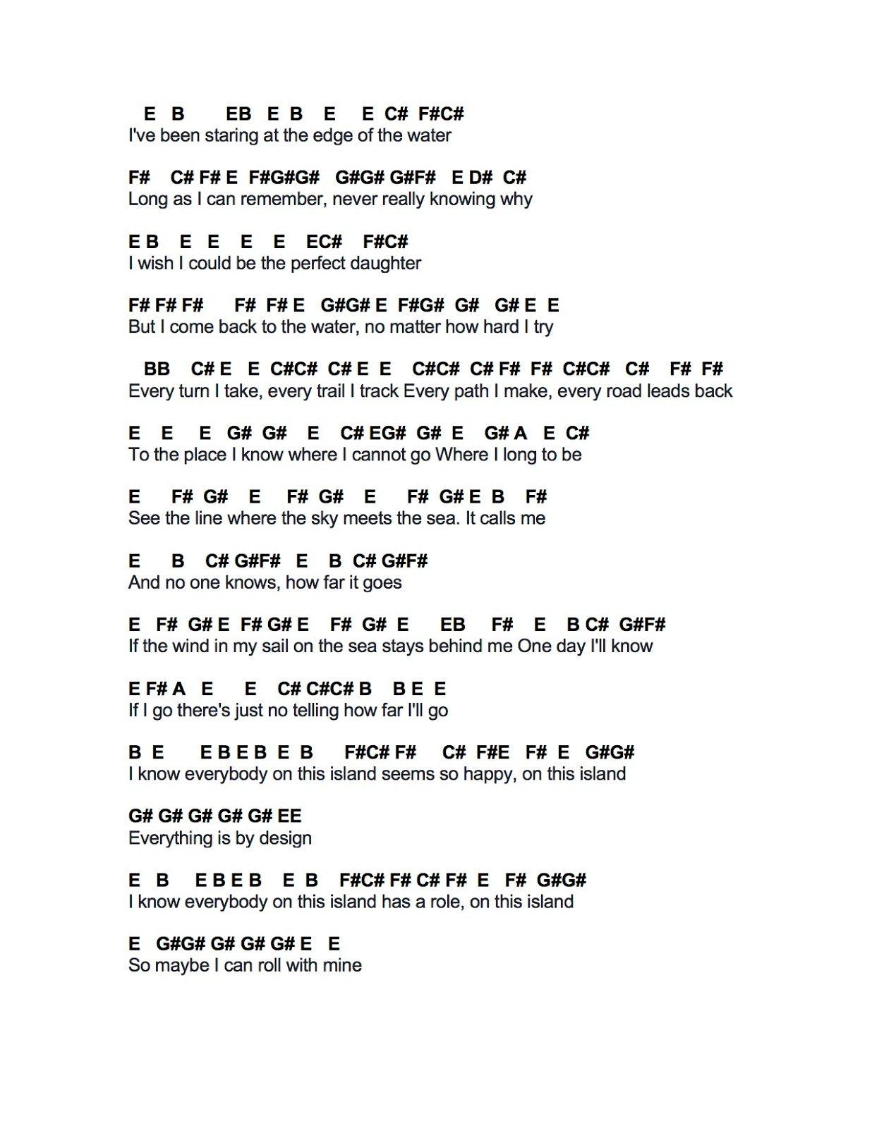Flute Sheet Music How Far I Ll Go Flute Sheet Music Piano