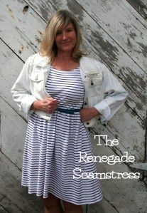 Dress and Denim Refashion Tutorial