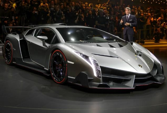 Lamborghini Veneno Only 4 Were Built Its Name Comes From A Bull That Killed Matador In 1914