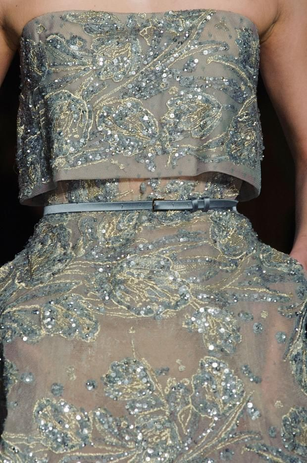 Detailed photos of Elie Saab Haute Couture Spring 2015 ...
