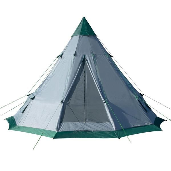 CAMP LIKE A KINGOur Winterial team spent extra time designing this Teepee Tent. Our goal  sc 1 st  Pinterest & Teepee Tent | 6-7 Person Family Tent | Quick Setup | Teepee tent