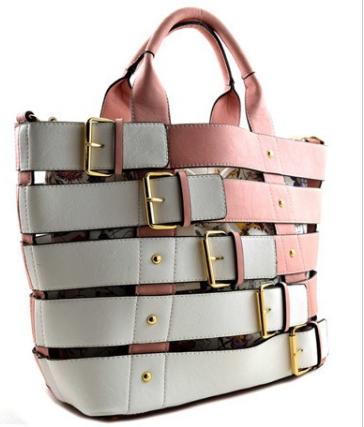 Drawstring Bucket Inner Bag Belted Large