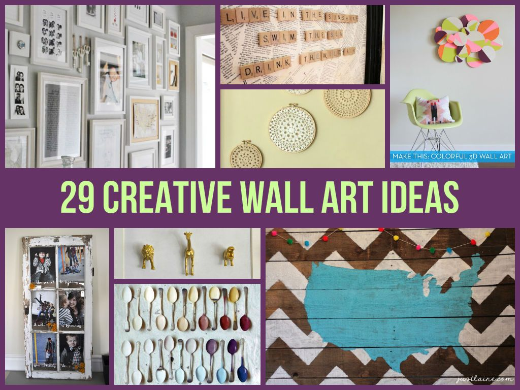 creative wall art ideas handcraft pinterest creative walls