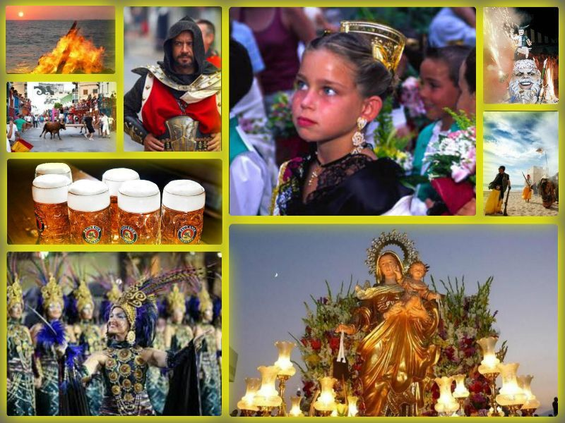 Disfruta de las Fiestas en #Calpe durante todo el año #CostaBlanca www.grupoturis.com