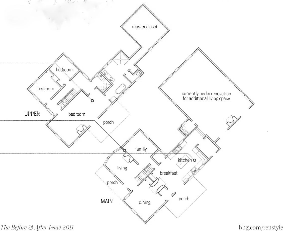 for the love of a house: the farmhouse floor plan Room measurements ...