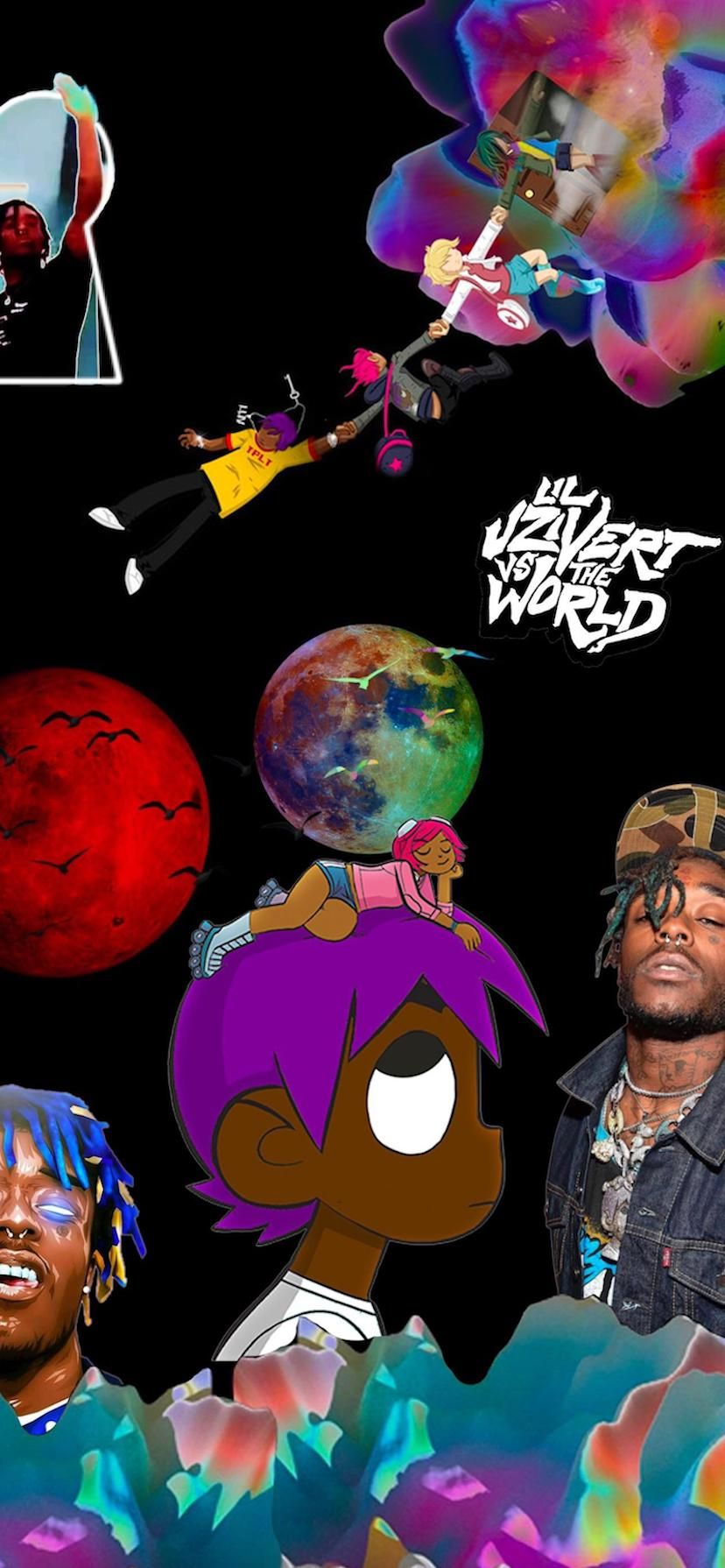 Pin On L U V I S I O N Lil Uzi Vert Wallpapers