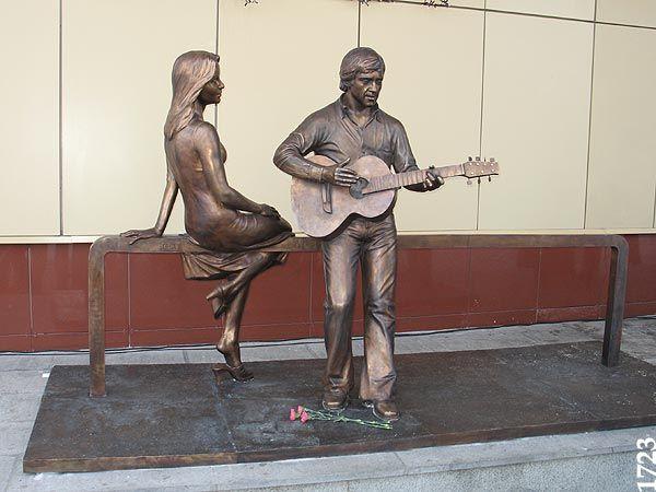 Екатеринбург. Памятник Владимиру Высоцкому