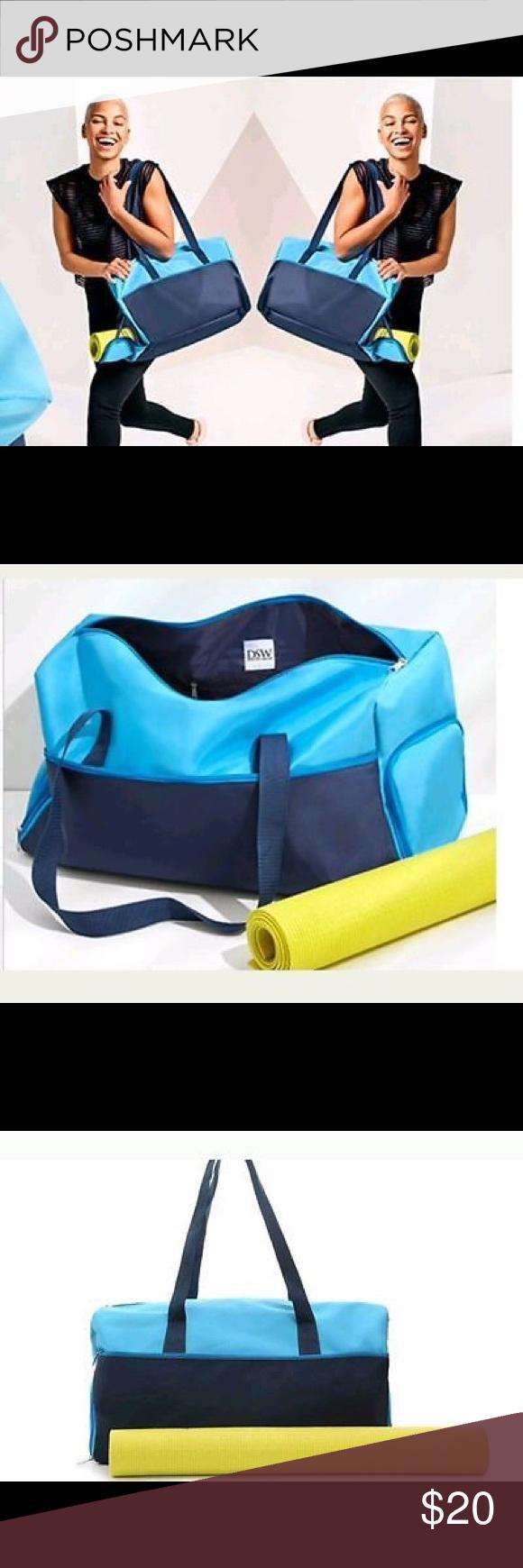 Nwt Yoga Gym Bag From Dsw Bags Gym Bag Yoga Gym Bag