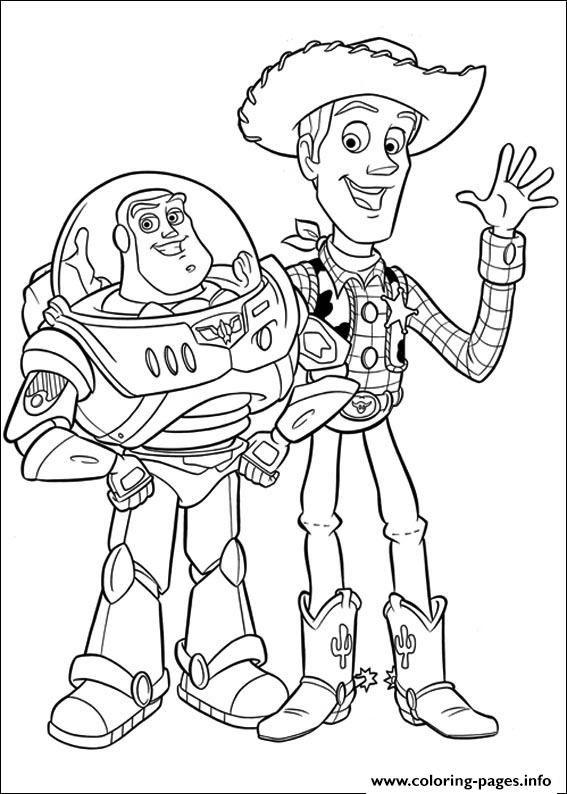 Print Printable Toy Story Characters942c Coloring Pages Olic Worksheet Buku Mewarnai Warna Dan Kartun