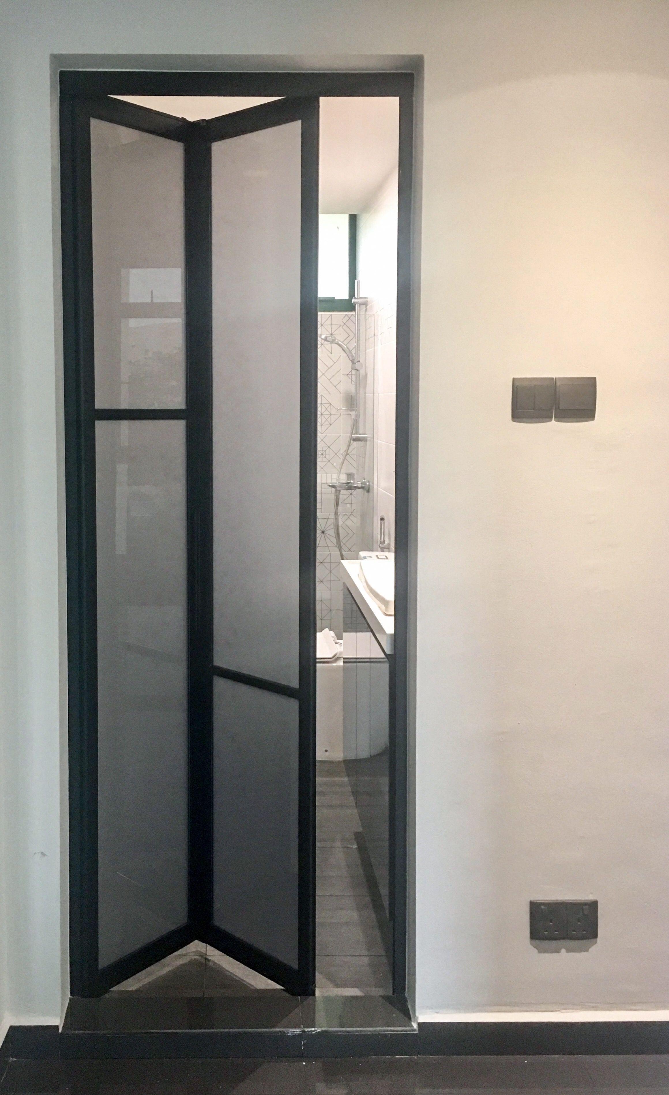 Bathroom Bifold Door Sliding Bathroom Doors Folding Bathroom