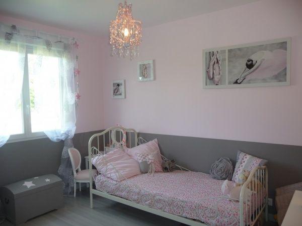 inspiration déco chambre vieux rose et gris | Chambre fille ...